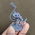 Hanzaki Salamander Skeleton (Pre-Supported) image