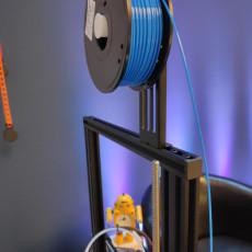 Small Spool Holder for Ender-3 V2 w/ 250g Filament Spools