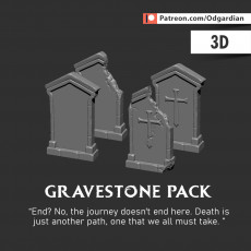 Grave Stone Pack