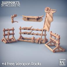 Weapons for Loot & Racks: Rakshakin Headhunters