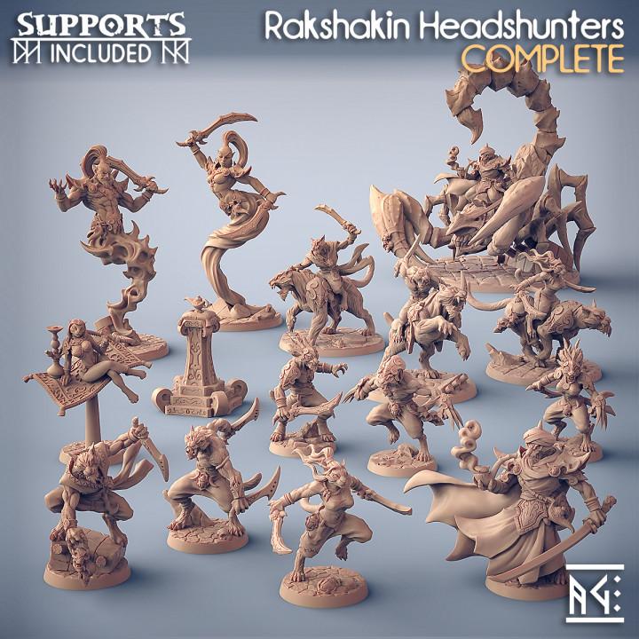 COMPLETE Rakshakin Headhunters (presupported)