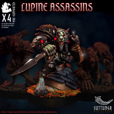 Lupine Assassins - Pre Supported