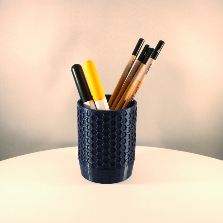 Honeycomb Pencil Holder