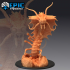 Adult Remorhaz / Arctic Centipede / Snow Monster image