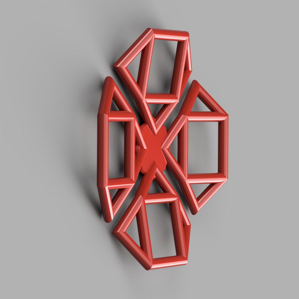 1000x1000 lattice poppy render