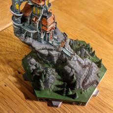 Picture of print of Hexton Hills Castle Gravenhof