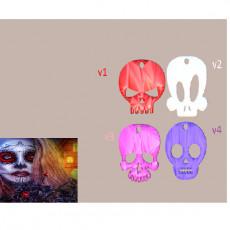 Halloween skull earrings (4 files !)