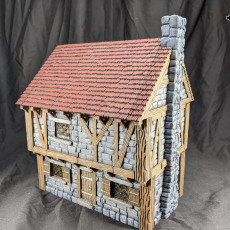 Buildings: Stone Brick Cottage