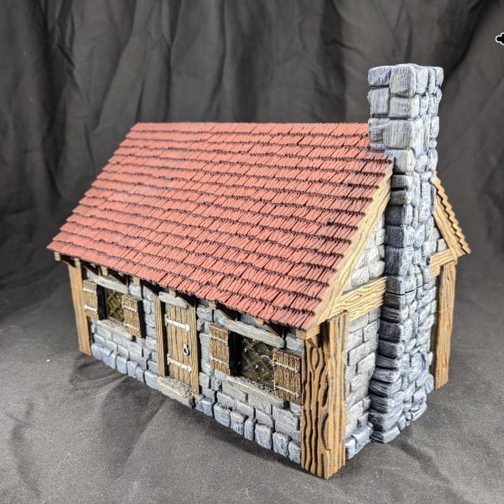 Buildings: Stone Brick Cottage