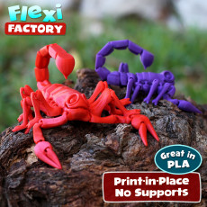 Flexi Print-in-Place Scorpion