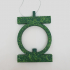 Green Lantern Christmas tree ornament pencil toppers or ooshies decoration image