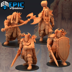 Frost Giant Set / Huge Arctic Warrior Collection
