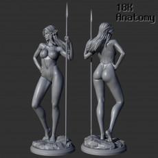 18K Anatomy - Elf with a spear