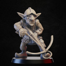 Goblin with crossbow