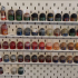 Ikea Skadis Pegboard Wargaming Paint Bottle Holder image