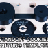 3/4'' / 19mm (18.9mm) Bench Dog Set with Levers, Cams, Stops, etc image