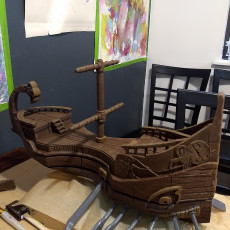 Picture of print of Atlantean Trireme - Pirate Ship
