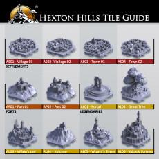Hexton Hills Tile Guide