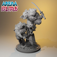 Arena Brutalis - Snarl and Cuddles - Special Boom Chop