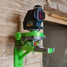 Adjustable holder for Bosch GLL-80-P