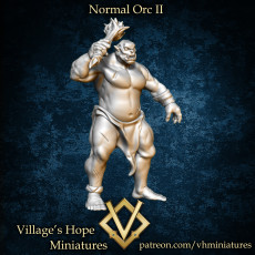 Normal Orc II with various base