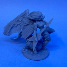 Picture of print of Valera, the Angel of Rock