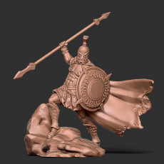 Greek Hoplite - Phobos - 35mm scale