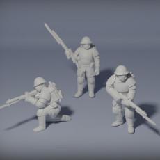 Dieselpunk Rifle Team