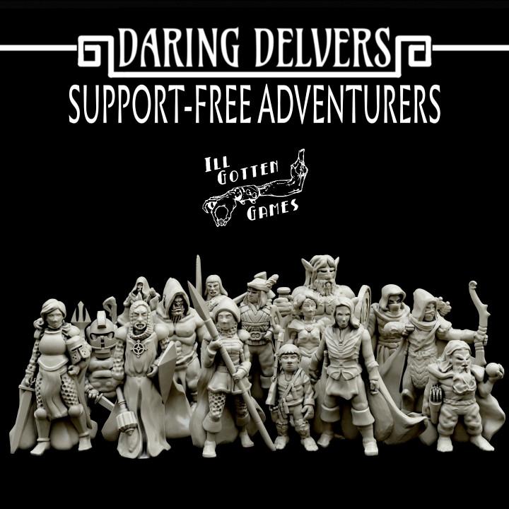 Daring Delvers: Support-Free Adventurers