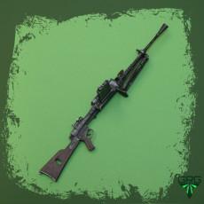 Breda 30 Machinegun - scale 1/4