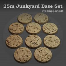 25mm Junkyard Base set (Supported)