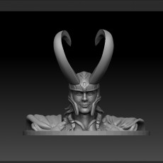 LOKI BUST FROM AVENGERS