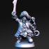 Madolff - Male Dwarf PIrate Captain - 32mm - DnD image