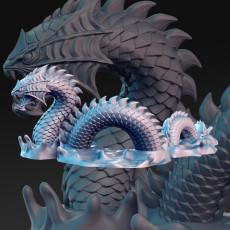 Sea Serpent - 32mm - DnD -
