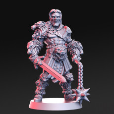 Lionel - barbarian- 32mm - DnD -
