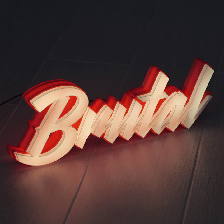 LED Marquee Brutal
