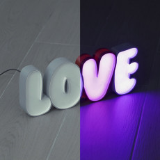 LED Marquee Love
