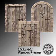 Fantasy Set - Doors and Windows