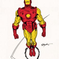 Classic Iron Man Flying