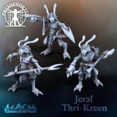 Jeral Thri-kreen (modular)