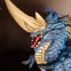 Picture of print of Blue Dragon