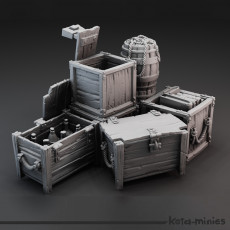 Medieval Crate Combo pack