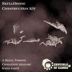SkullDrone construction kit (free Sensor skull)