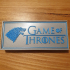 Game of Thrones Chess Set and Box image