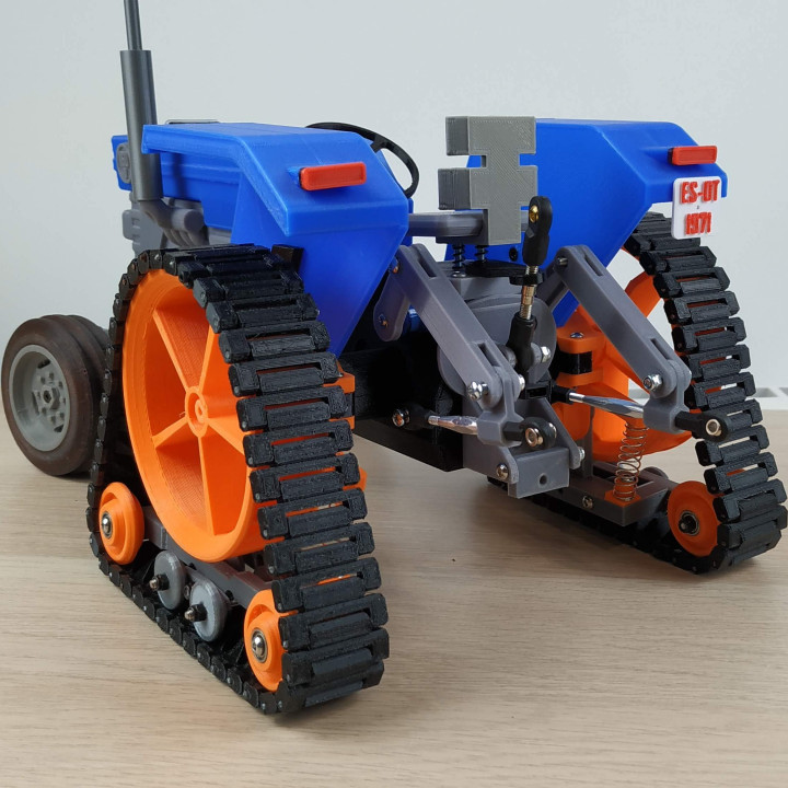 OpenRC Tractor tracks