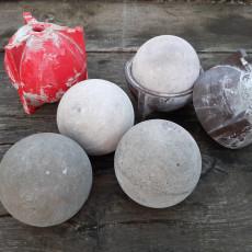 Ball mold 100mm