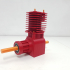 FULLY Printable 2 STROKE ENGINE Model - Realistic & Working image