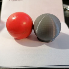 Compatible Red Ball for bullock