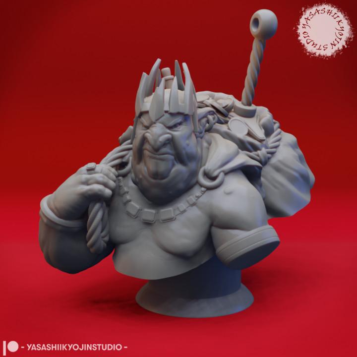 Grinkle the Goblin King - Bust