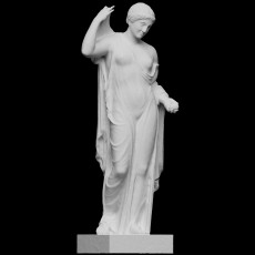 Aphrodite, goddess of love, of the  Venus Genetrix  type